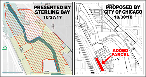 Cortland/Chicago River TIF district: Sterling Bay vs. city of Chicago
